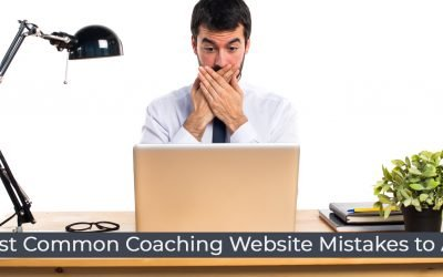 7 most common coaching website mistakes to avoid